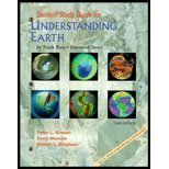 9780716741220: Study Guide for Understanding Earth, Third Edition