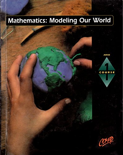 9780716741541: Mathematics: Modeling Our World, Course 1, Annotated Teacher's Edition