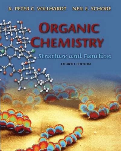 9780716743743: Organic Chemistry, Fourth Edition: Structure and Function