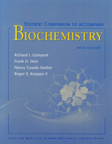 9780716743835: Student Companion to Accompany Biochemistry, 5th Edition