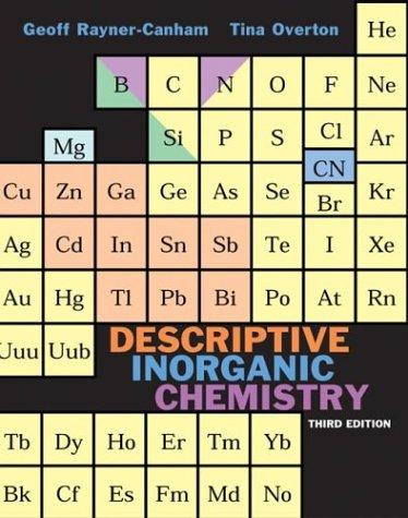 9780716746201: Descriptive Inorganic Chemistry, Third Edition