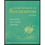 Biochemistry, Fifth Edition Lecture Notebook: Jeremy M. Berg,