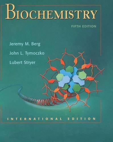 9780716746843: Biochemistry, Fifth Edition: International Version (hardcover)