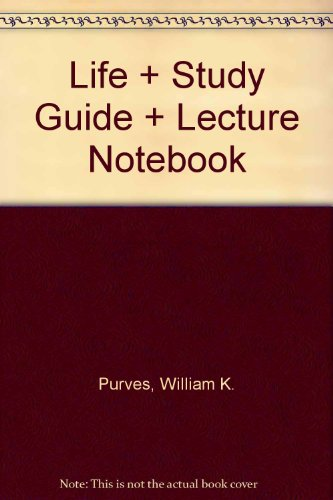 9780716748519: Life + Study Guide + Lecture Notebook