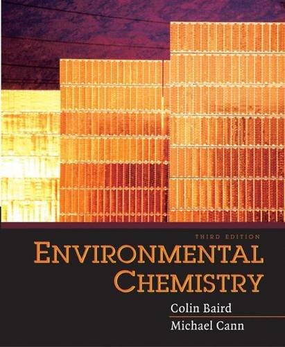 9780716748779: Environmental Chemistry