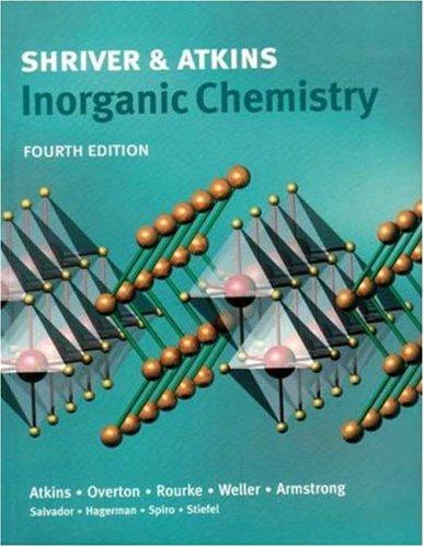 9780716748786: Shriver & Atkins Inorganic Chemistry