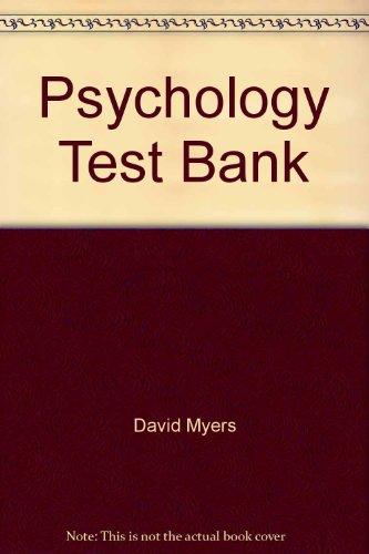 myers psycholgy test bank