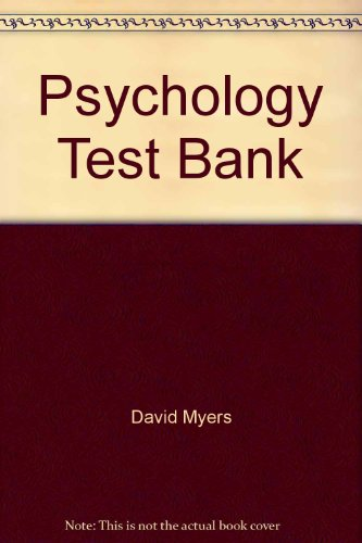 9780716752912: Psychology Test Bank