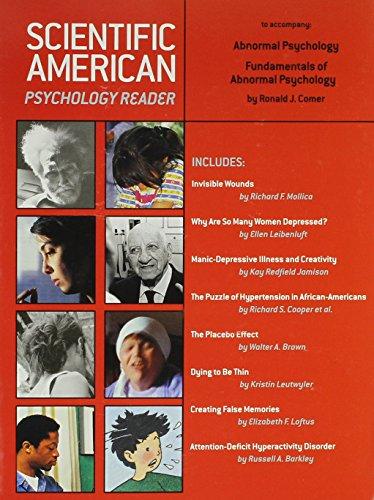 Ronald Comer Abnormal Psychology Abebooks