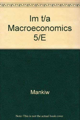 9780716753988: Im t/a Macroeconomics 5/E