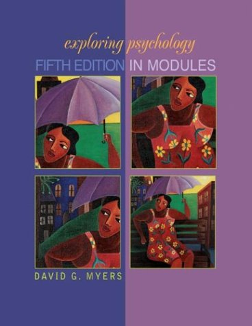 9780716755494: Exploring Psychology, Fifth Edition in Modules