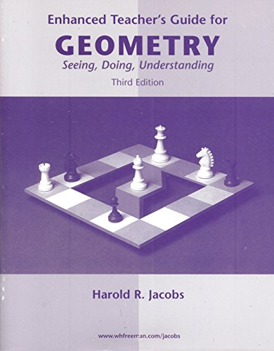 Geometry by harold jacobs abebooks enhanced teachers guide for geometry seeing jacobs harold r fandeluxe Images