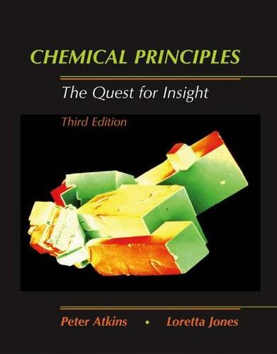 9780716757016: Chemical Principles: The Quest for Insight