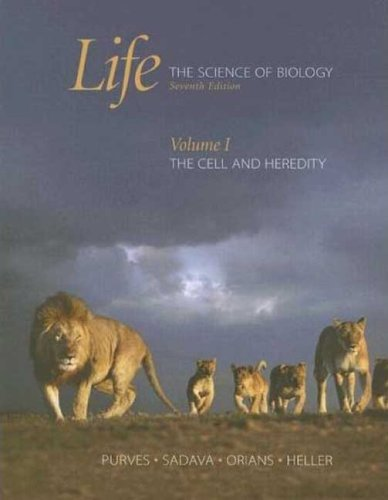 9780716758082: Life: The Science of Biology:  Volume I: The Cell and Heredity