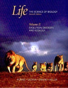 9780716758099: Life: The Science of Biology: Volume II: Evolution, Diversity, and Ecology