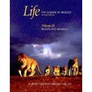 9780716758105: Life: The Science of Biology Plants and Animals: 3