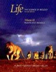 9780716758105: Life: The Science of Biology:  Volume III: Plants and Animals