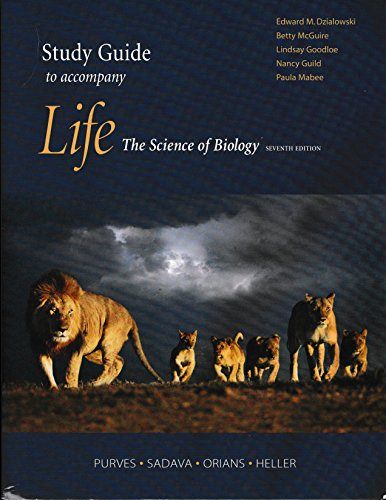 9780716758112: Life: The Science of Biology Study Guide
