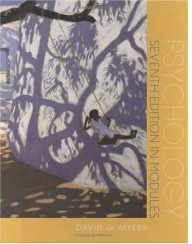 9780716758426: Psychology, Seventh Edition, in Modules