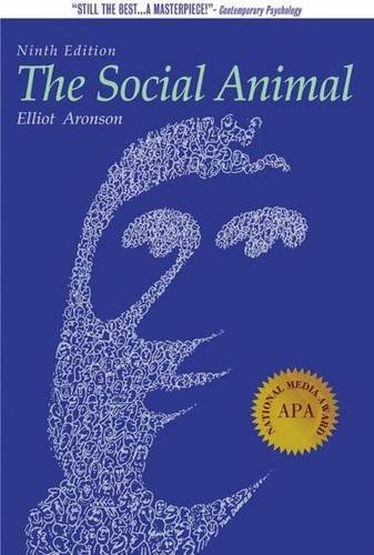 9780716759669: Readings about the Social Animal, Ninth Edition