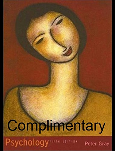 9780716760535: Psychology (Complimentary Edition)