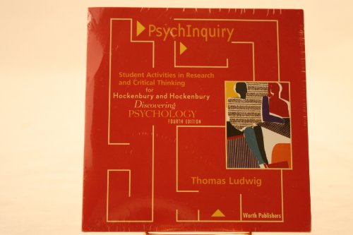 Focus on Research: PsychInquiry for Discovering Psychology: Ludwig, Thomas