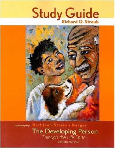 9780716760924: Study Guide for The Developing Person Through the Life Span