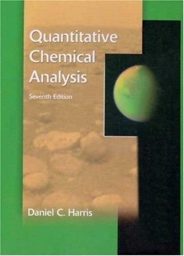 9780716761259: Quantitative Chemical Analysis & Solutions Manual