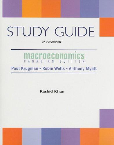 9780716761587: Macroeconomics: Canadian Edition Study Guide