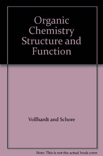 9780716762881: Organic Chemistry Structure and Function