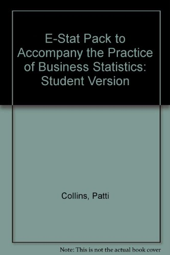 9780716763055: E-STAT Pack (Student) for The Practice of Business Statistics