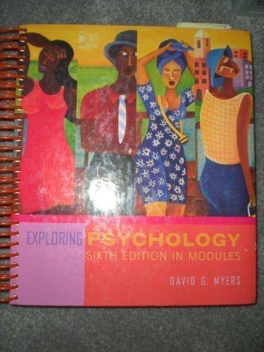 Modular Exploring Psychology: David G. Myers
