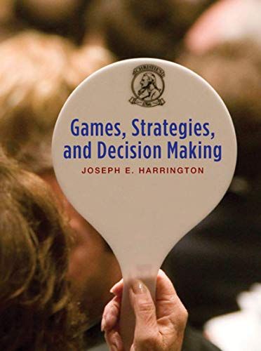 9780716766308: Games, Strategies and Decision Making