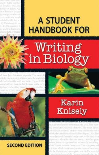 9780716767091: A Student Handbook for Writing in Biology