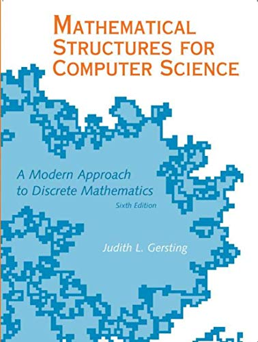 9780716768647: Mathematical Structures for Computer Science