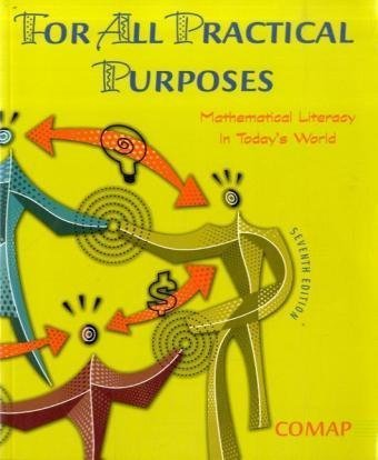 9780716769019: For All Practical Purposes: Mathematical Literacy In Today's World