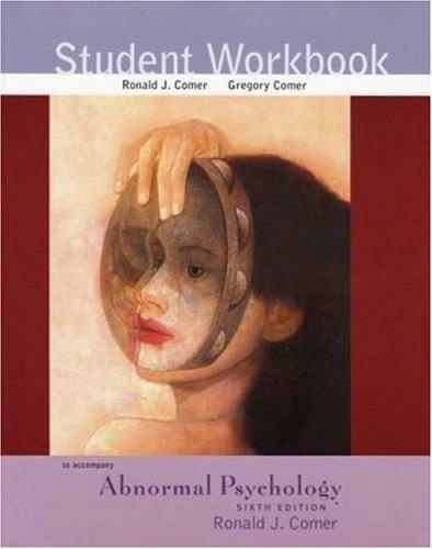 9780716769286: Abnormal Psychology Student Workbook