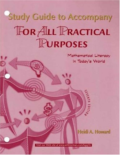 9780716769460: For All Practical Purposes Student's Study Guide