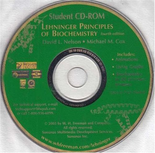 9780716770497: Lehninger Principles of Biochemistry CHIME Student CD-ROM