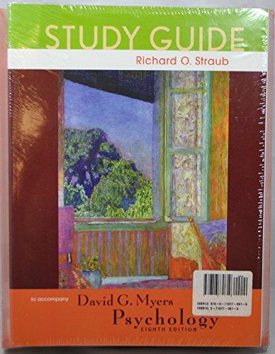 9780716770619: Psychology + Study Guide + Cd