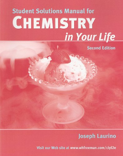9780716770749: Chemistry in Your Life Solutions Manual