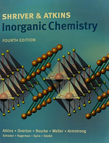 9780716771661: Inorganic Chemistry [With Paperback Book]