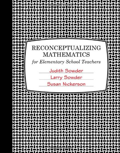 9780716771968: Reconceptualizing Mathematics: For Elementary School Teachers