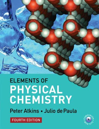 9780716773290: The Elements of Physical Chemistry