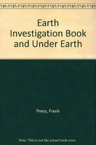 9780716773368: Earth Investigation Book and Under Earth
