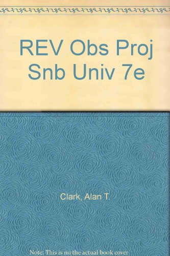9780716773382: Universe Revised Observing Projects: using Starry Night Backyard and Deep Space Explorer