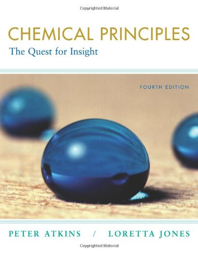 9780716773559: Chemical Principles: The Quest for Insight