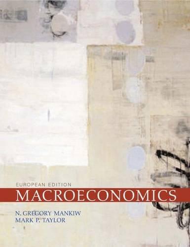 Macroeconomics (0716773694) by Mark P. Taylor; N. Gregory Mankiw