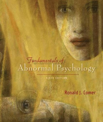 9780716773764: Fundamentals of Abnormal Psychology