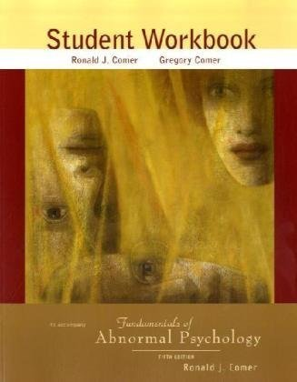 9780716773962: Fundamentals of Abnormal Psychology Student Workbook
